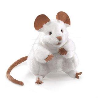 Folkmanis Maus, weiße