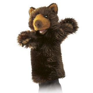 Folkmanis Bär für die Puppenbühne
