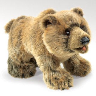 Folkmanis Grizzlybär