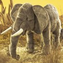 Folkmanis Elefant